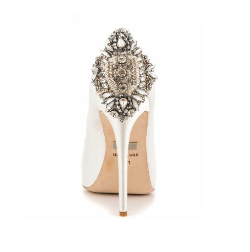Badgley Mischka Bridal shoes available in Australia at Intique & Co www.intique.com.au
