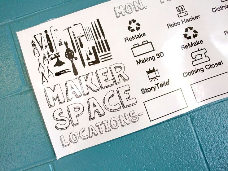 Pop Up and Make: Student-Designed and Facilitated Makerspaces  #creative #edchat