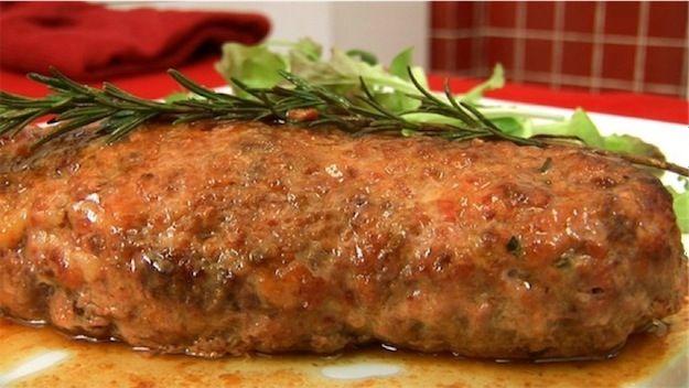 Meat Loaf Italian Style (Polpettone classico)