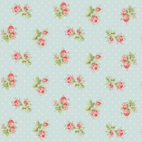 Cath Kidston flooring is perfect for a pretty bedroom or beautiful bathroom.