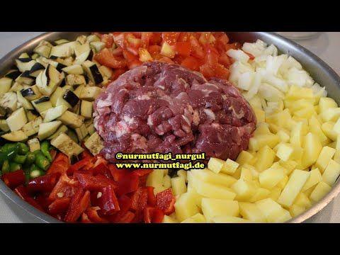Fırında Köfte Patates - YouTube