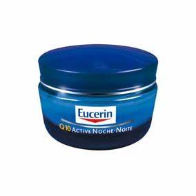 Eucerin Eucerin Crema Q10 Noche 50Ml Una hidratante antiarrugas regeneradora de noche que reduce la profundidad de las arrugas y líneas finas en 5 semanas.