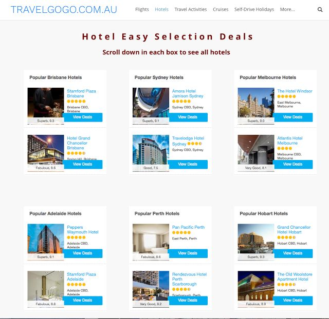 TravelGoGo.com.au: New Quick Easy To Book Best Hotels Deals In Each C...