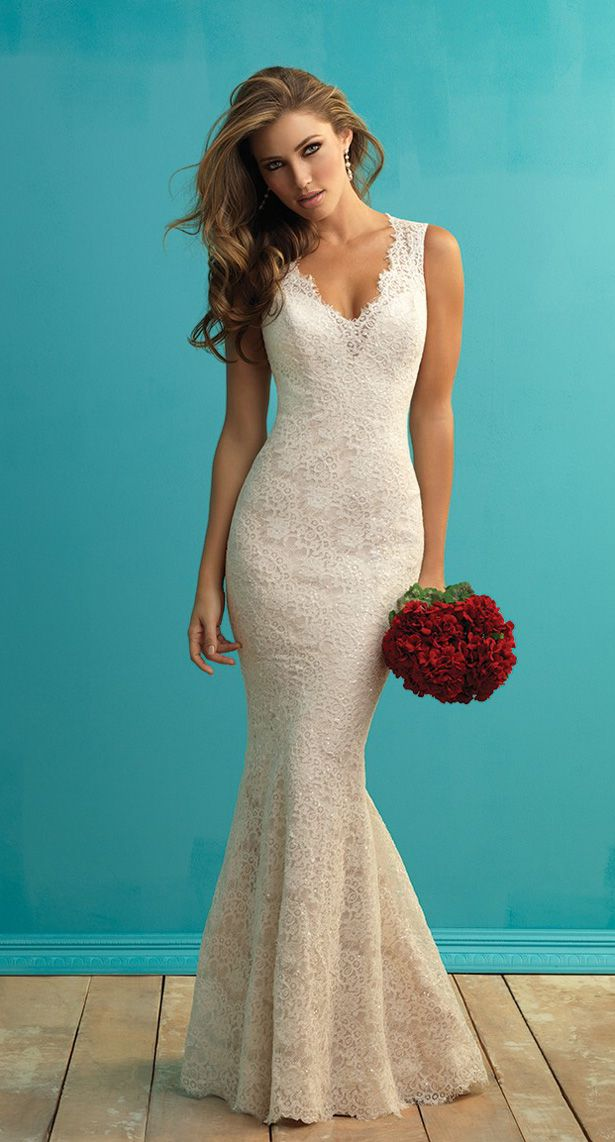 Best 25 allure bridal lace ideas on pinterest for Body shaper for wedding dress