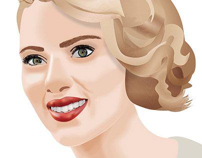 "Check out new work on my @Behance portfolio: ""Scarlett""…"