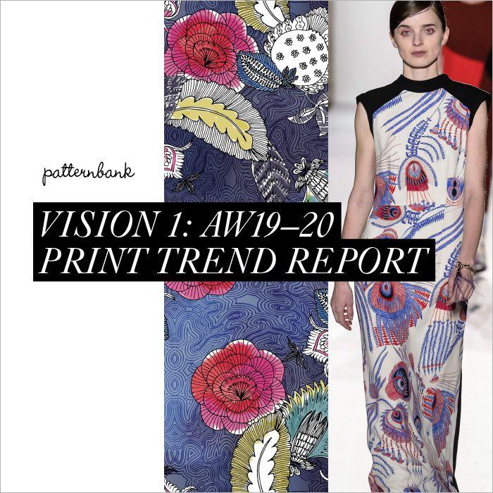 Vision 1: Autumn/Winter 2019/20 Print & Pattern Trend ...