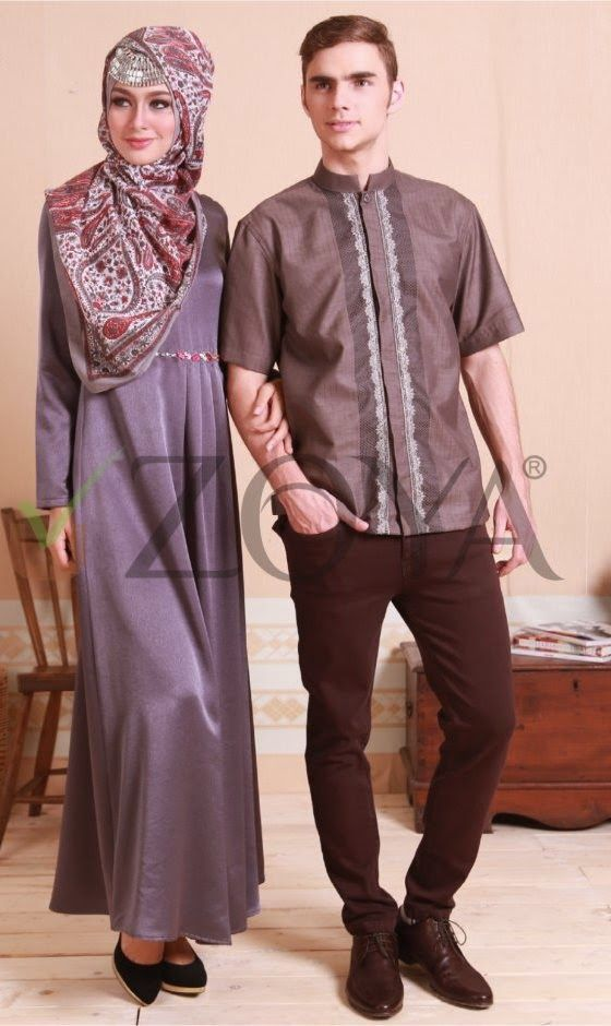Koleksi Busana Muslim Couple Zoya Terbaru