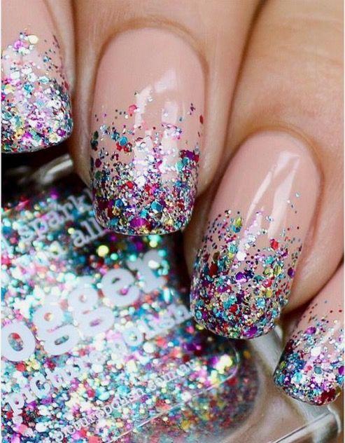Confetti Nails #HeatUpThen