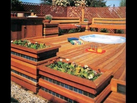 24 best images about deck plans patio deck ideas elevated deck plans small deck plans for Build your own swimming pool deck
