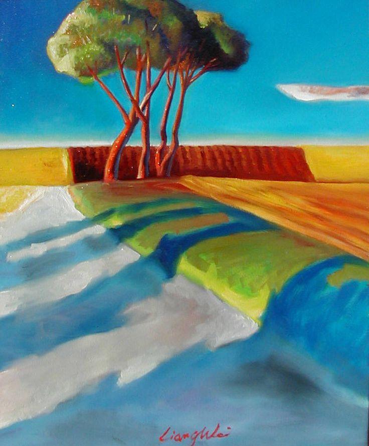 Artist:   Liang Wei, Title: Shadows Nourishing the Earth