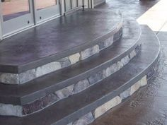 Whatcom County Stamped & Colored Concrete Patio Project