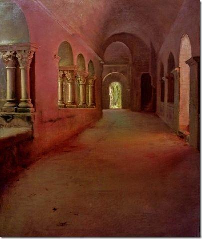 ramon casas i carbo_monasterio_de_sant_benet_de_bages