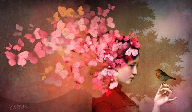 """Friendship 2"" by Catrin Welz-Stein, via @imagekind"