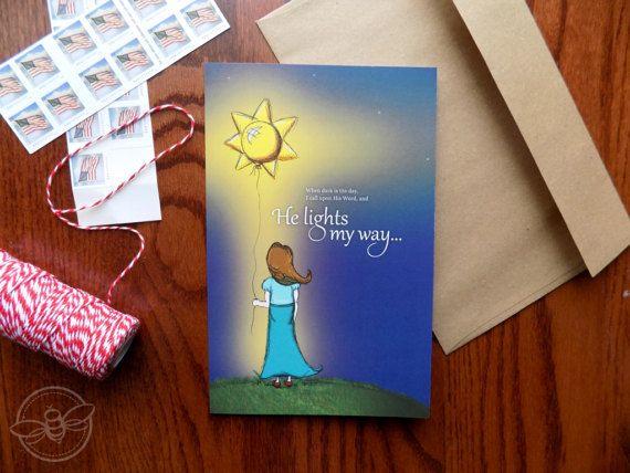 My Sunshine Greeting Card Christian Greeting Card