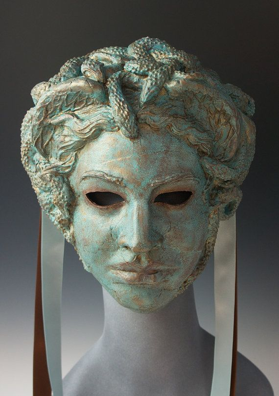 Imagine this MEDUSA lying for centuries sunk beneath the waves of the Aegean, then brought into the Mediterranean sun. Another in the faux