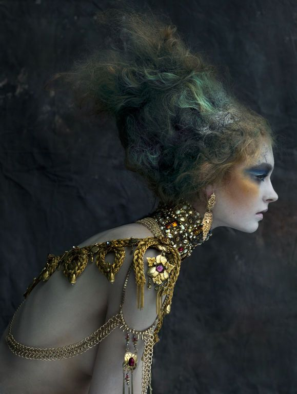A fantasy storie. Amberly Valentine  — MA Fashion Photography