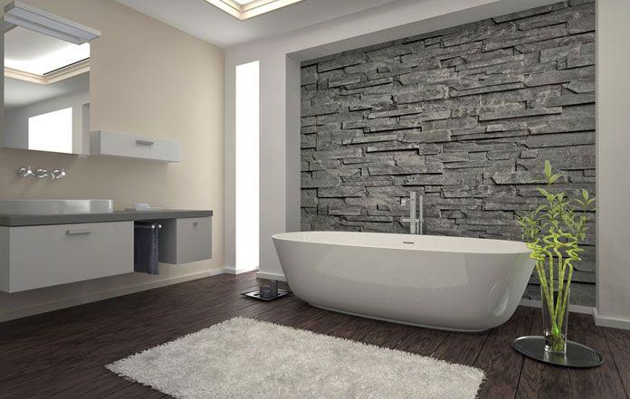 bad fliesen gestaltung modern | badezimmer & wohnzimmer, Moderne deko