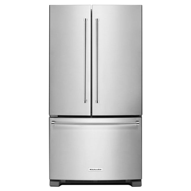 """French-Door Refrigerator -33"""" - 22 cu. ft.-Stainless Steel"""