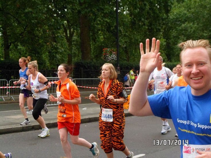 "Many thanks to Alex Webster who completed the British 10K London.  Alex writes "" I have now completed the London British 10K run on Sunday 13th July 2014. It was a great run where 25,000 runners took part and probably about 50% were running for charities."