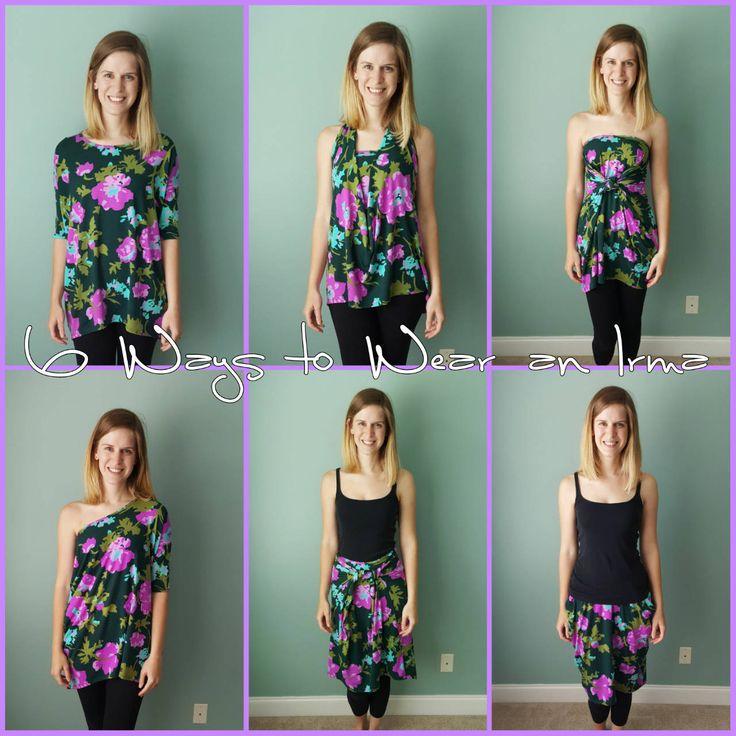LuLaRoe Style Inspiration: 6 Ways to Wear an Irma // LuLaRoe Sarah Adams // safariwithsarah.com