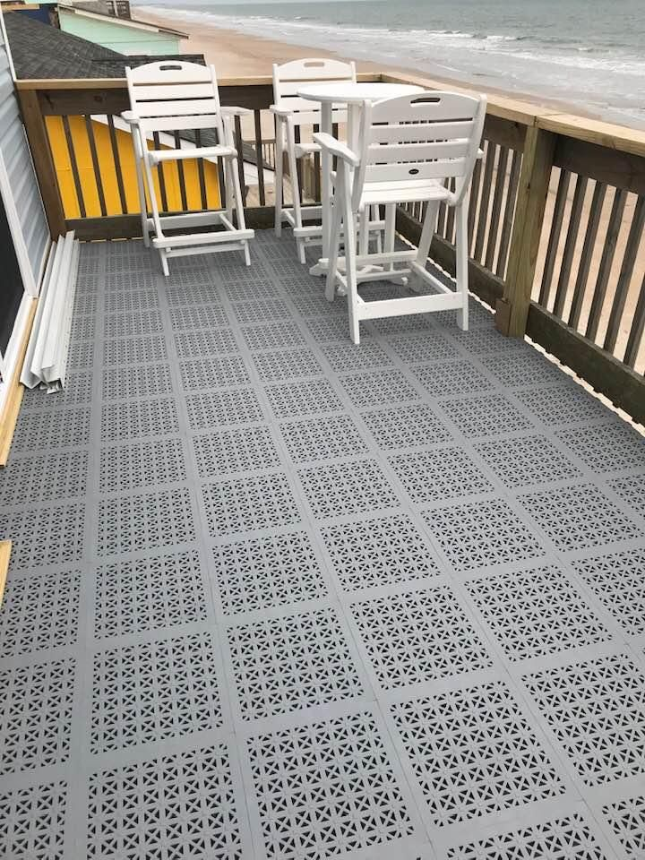 Outdoor Pvc Staylock Deck Floor Tiles Balcony Flooring Deck Flooring Outdoor Flooring