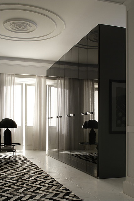 Concepts in wardrobe design. Storage ideas, hardware for wardrobes, sliding wardrobe doors, modern wardrobes, traditional armoires and walk-in wardrobes. Closet design and dressing room ideas.