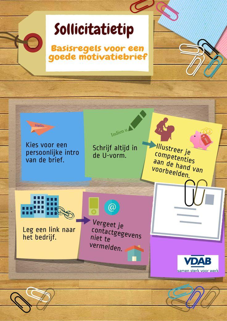 Sollicitatietip #3: De basisregels voor een goede motivatiebrief!