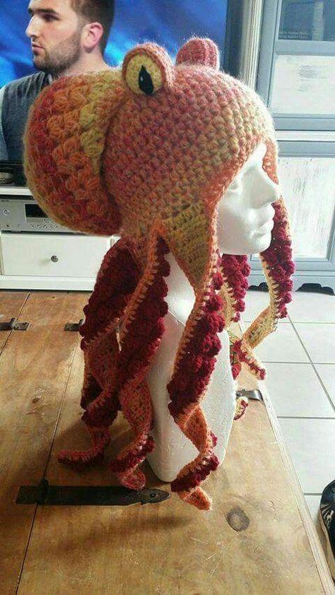 FREE pattern octopus hat