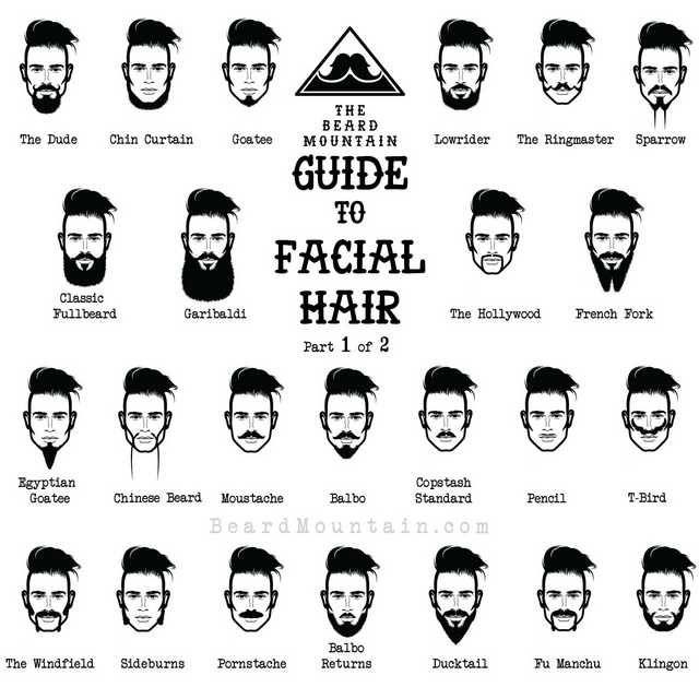 The Full Guide To Facial Hair Awesomeness Facial Hair Mens