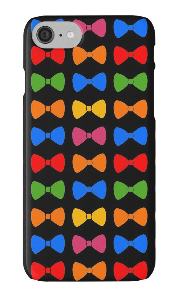 Rainbow Bows Pattern by XOOXOO  iPhone Cases & Skins  PHONE CASE FOR IPHONE 4/4S/5/5C/5S/6/6 PLUS/ 7/7 PLUS