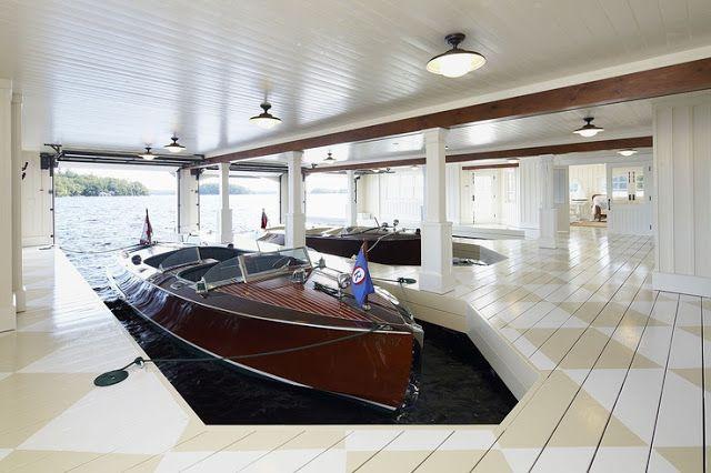 Coastal Style - The Perfect Boathouse