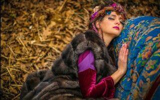 Samel furs fairytale!! Top quallity of sable coat!!