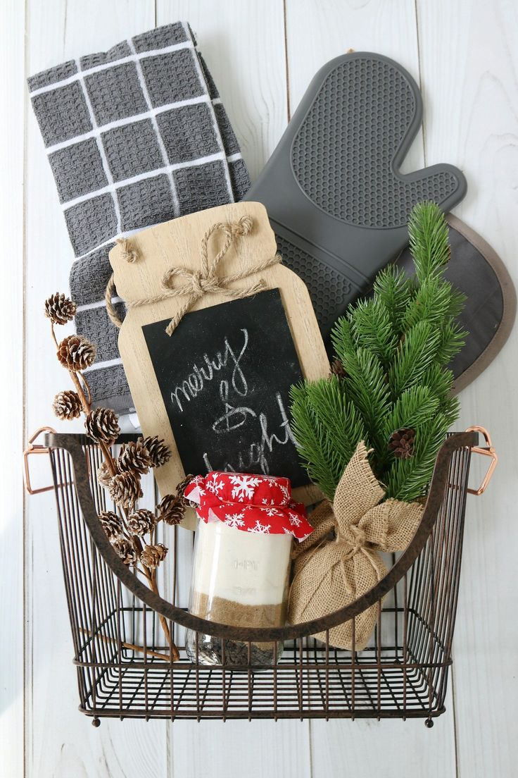 Fresh baked gift basket idea