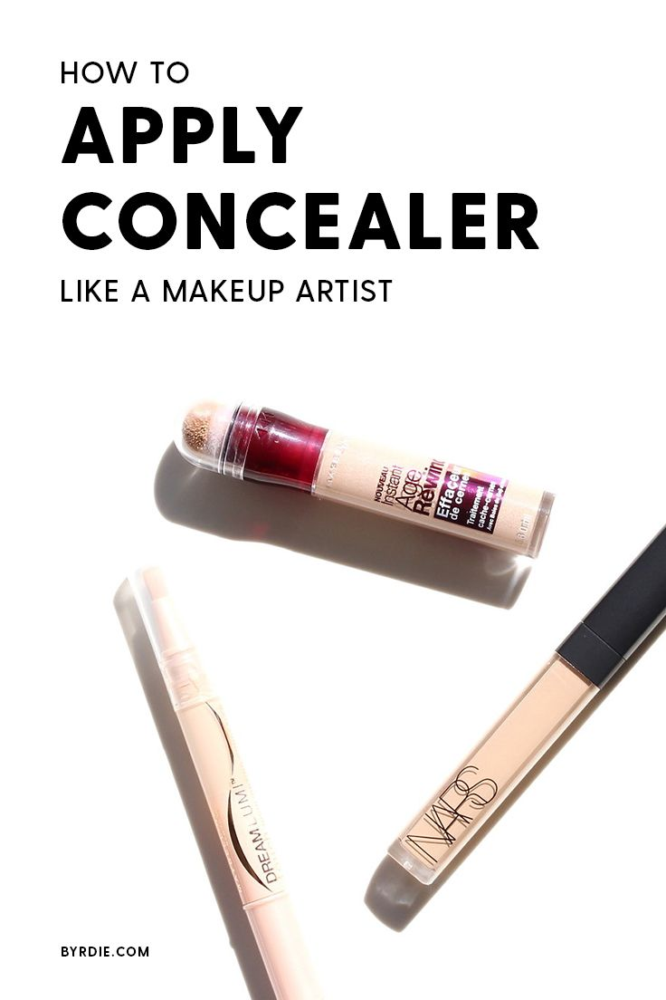 The best way to apply concealer, according to a makeup artist