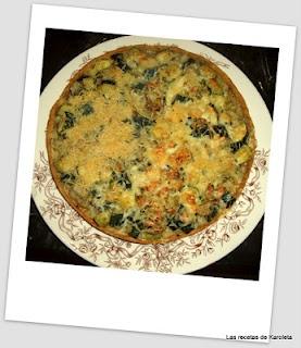 Tarta de calabacín e hinojo (receta vegana)