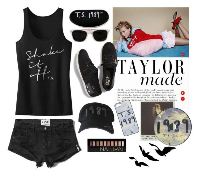 T.S. 1989 by nisangngr on Polyvore featuring Abercrombie & Fitch, Keds, Forever 21, taylorswift, black, polyvoreeditorial, organized and 1989