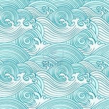 japanese wave pattern - Google Search