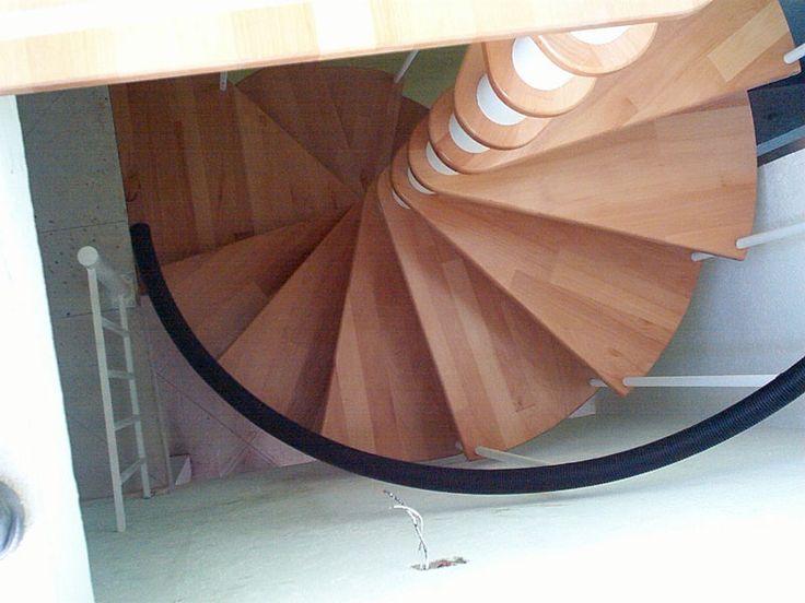 1000 ideas about barandales de madera on pinterest - Escaleras de caracol de madera ...