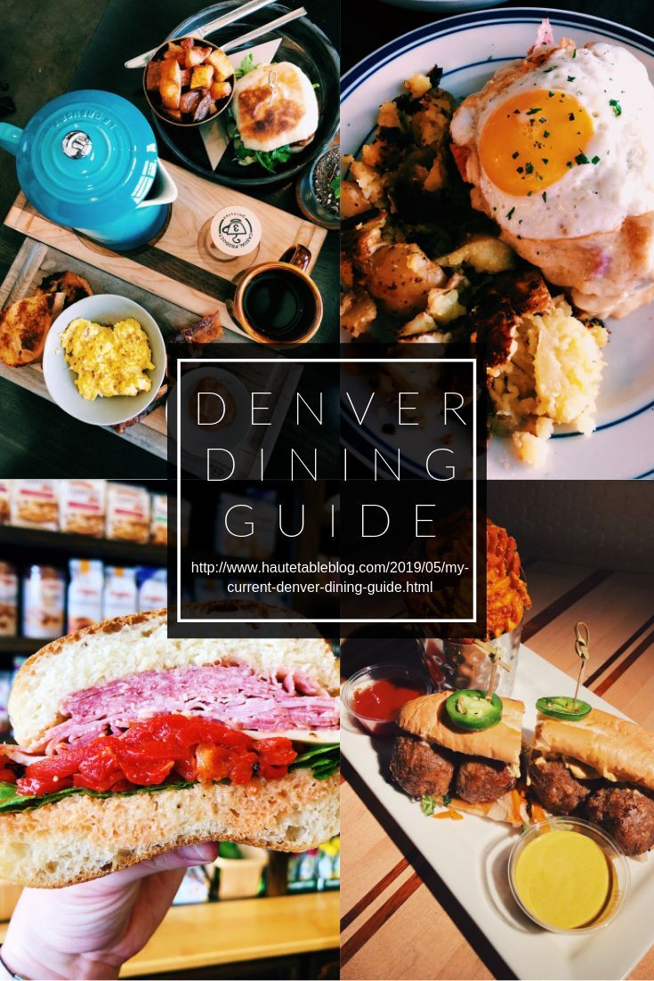 My Current Denver Dining Guide Colorado Food Denver Restaurants Denver Food In 2020 Denver Restaurants Colorado Food Denver Food
