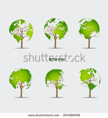 28 best Environmental Logos images on Pinterest Vector - copy world map vector graphic