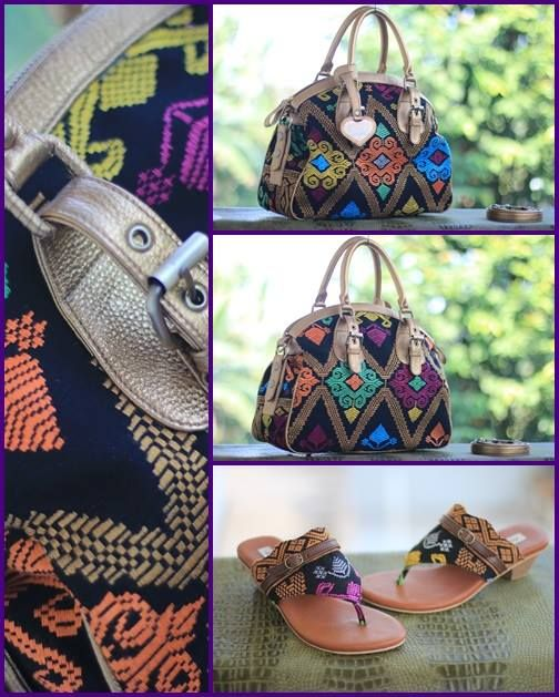curly songket bali bag