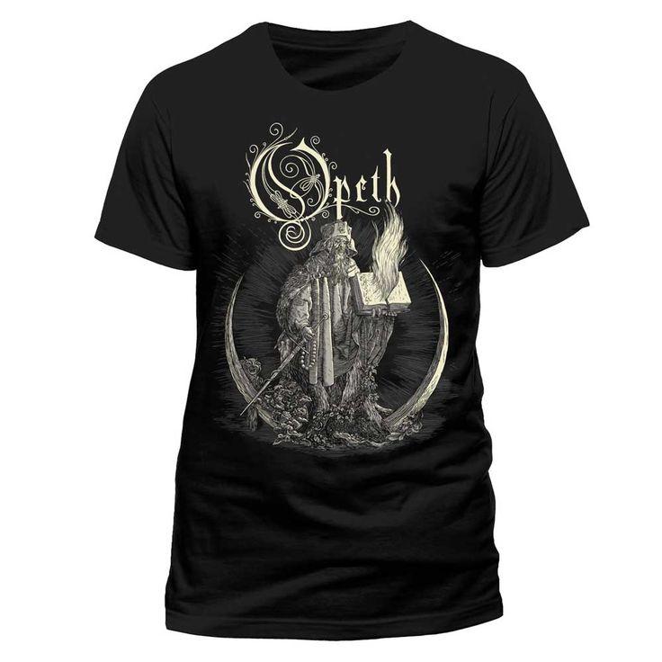Opeth - Faith heren unisex T-shirt zwart - Band merchandise | Attitud
