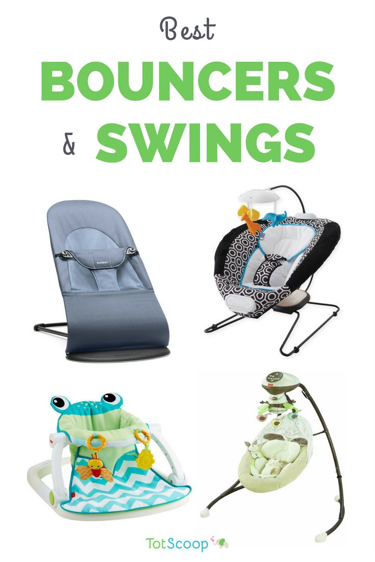 The best baby bouncers/infant seats and swings -- hand-picked by our editors! | TotScoop
