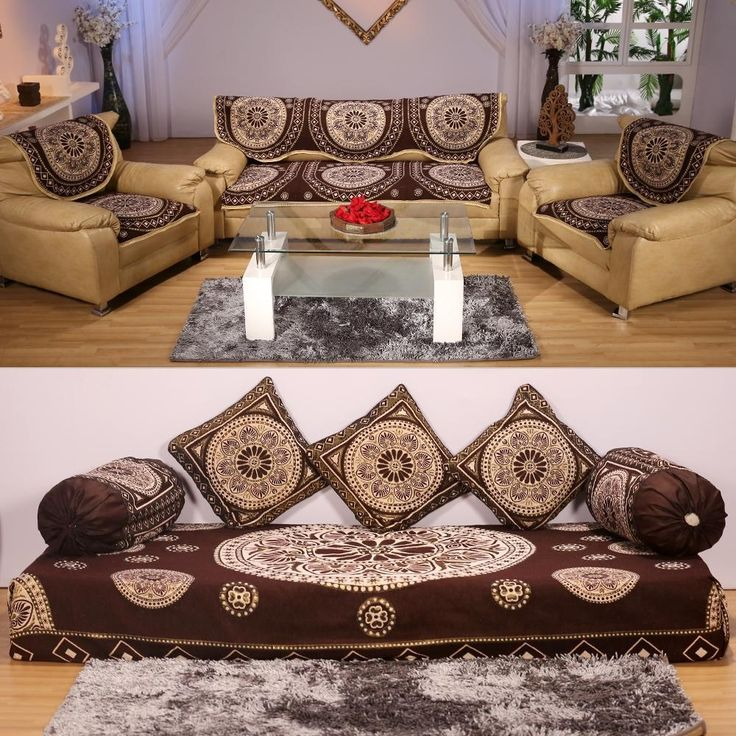 Sofa Cover With Bed Sheet