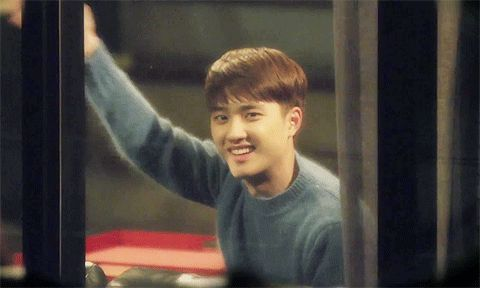 Exo Next Door-I loved when D.O did this! *and I love that remote controlled curtains*
