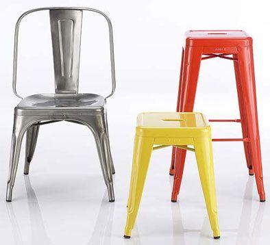DESIGNwatcher.com: Marais Chair AC i inne meble Tolix