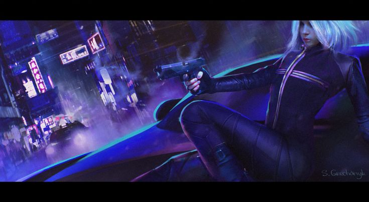 Cyberpunk Movie Shots, Sergey Grechanyuk