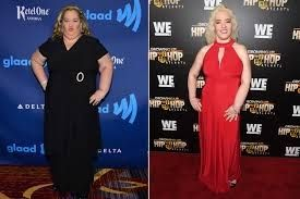 The Secret to Mama June's 300-Lb. Weight Loss: Sleeping Until 1 to Skip Breakfast!  Mama June Shannon has a few weight loss secrets up her size 4 sleeve!  Its all about portion control for me Shannon 38 tells PEOPLE exclusively in this weeks issue on stands Friday. The reality star dropped 300 lbs. earlier this year from her onetime high of 460 lbs.  Its not easy to eat like youre supposed to and hit the gym all the time but Im just trying to maintain it the best I can she adds. In addition…