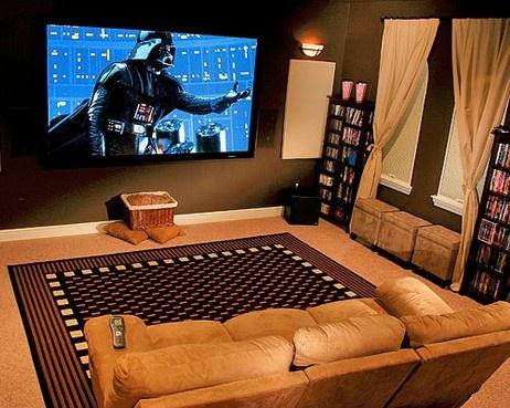 32 best images about salas de cine en casa on pinterest - Sala de cine en casa ...