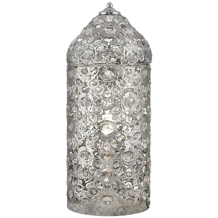 Lampara de mesa jaula metal arabe mudejar niquel brillo estilo rabe pinterest jaulas - Apliques arabes ...